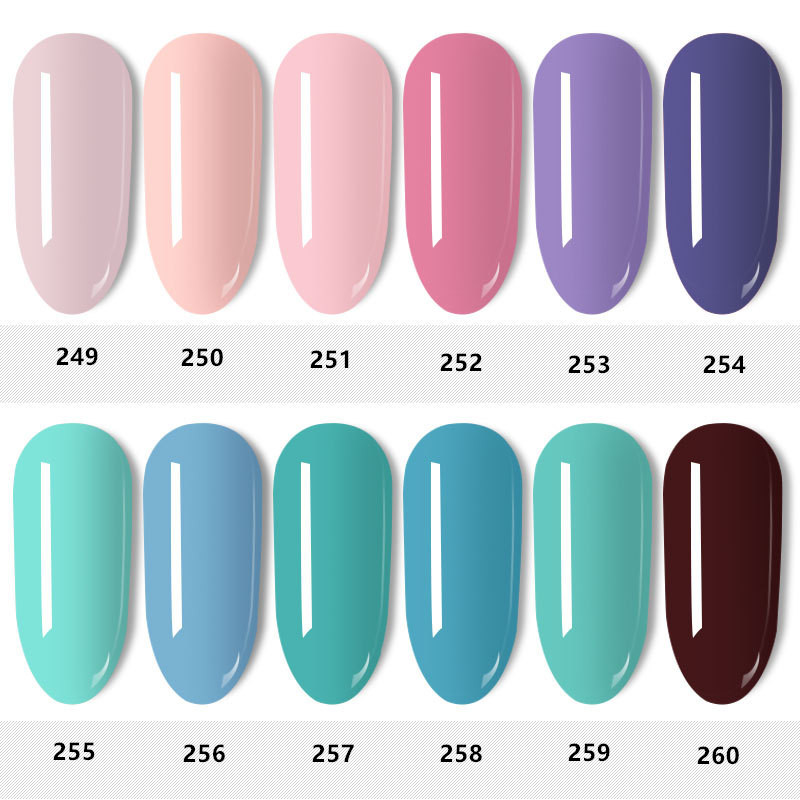 Best Nail Glitter Shiny Matte Shell Colorful Nail Art Pigment Dust Powder Manicure Nail Decorations T03204