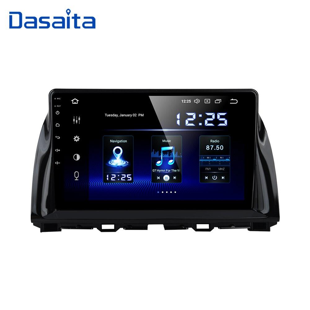 Dasaita 10,2 Android 10 Автомобильный GPS радио плеер для Mazda CX5 CX 5 2013 2014 2015 с восьмиядерным 4 Гб 64 Гб авто стерео Мультимедиа