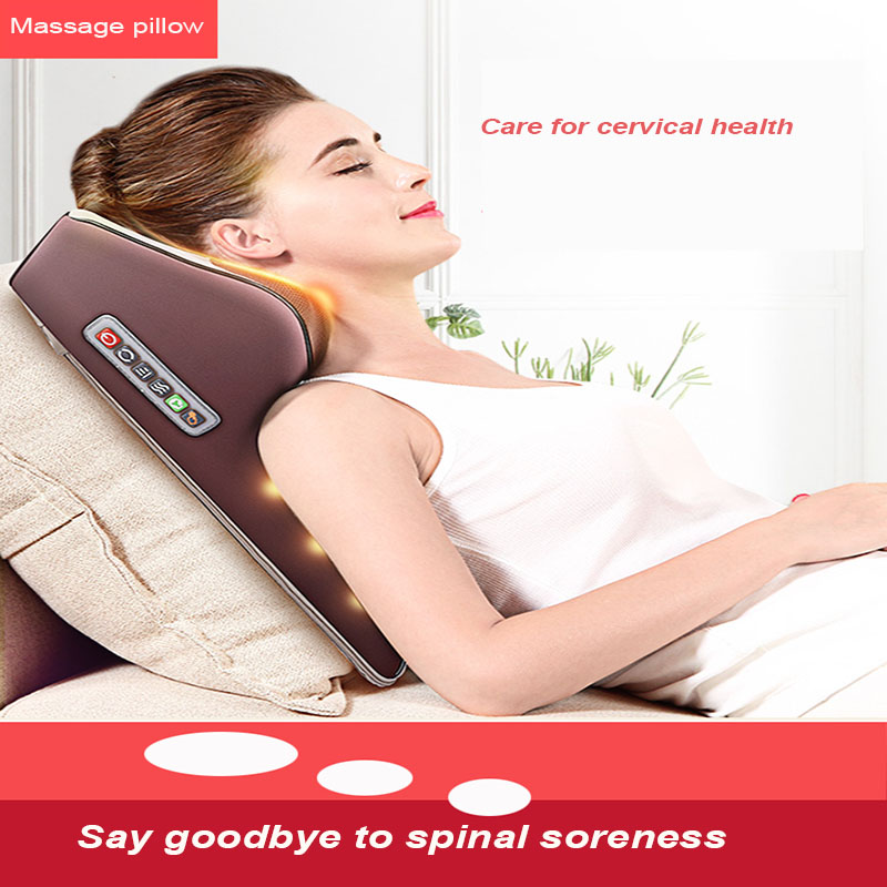 Multifunctional Massage Pillow Neck And Shoulder Full Massager Christmas Thanksgiving Gift Parents Loved Ones Friend