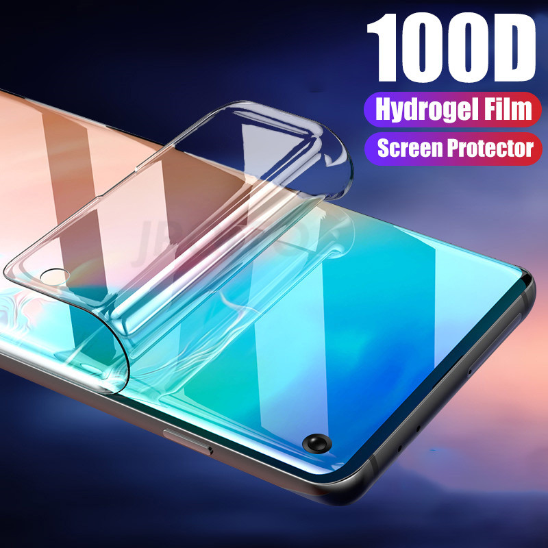 100D Screen Protector Hydrogel Film For Samsung Galaxy Note 10 8 9 Plus Protective Film For Samsung S8 9 10 Plus S10 5G Not Glas