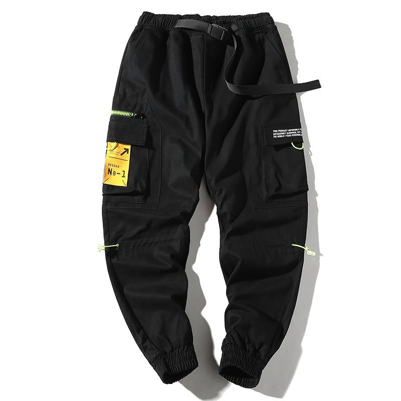 Hip Hip Pants Vintage Color Block Patchwork Cargo Harem Pant Streetwear Harajuku Jogger Sweatpant Trousers