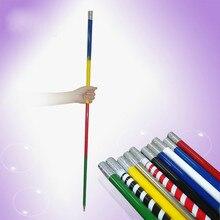 110 см/150 см металлическая появляющаяся трость может выбрать цветные волшебные палочки для профессиональной Волшебная сцена уличные иллюзионные аксессуары