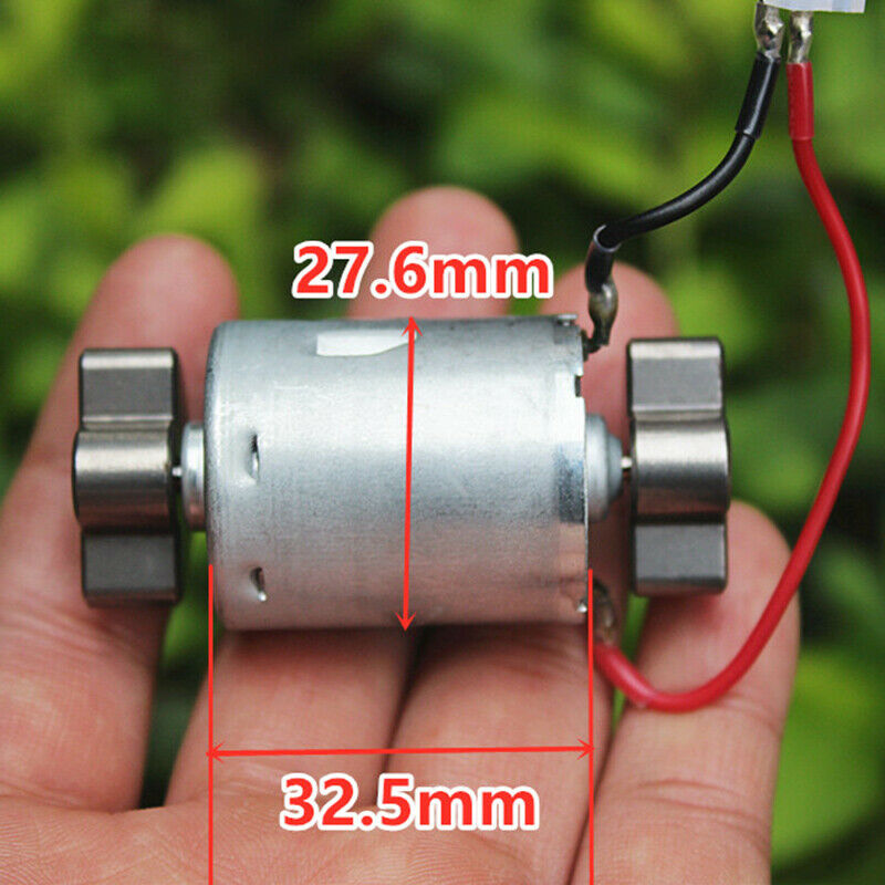 DC 3V 3.7V 5V Micro RS-360 Strong Vibration motor, Vibrating Motor Dual Vibrator Head DIY messager