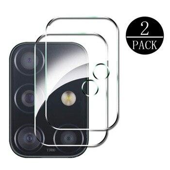 Перейти на Алиэкспресс и купить Закаленное стекло для объектива камеры, 2 шт., защита для экрана для Samsung Galaxy A51 A71 5G S20 Ultra Plus M31 M21 M11 A41 A31 A21 A11 J6p