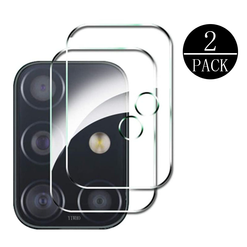 2PCS Camera Lens Tempered Glass For Samsung Galaxy A51 A71 5G S20 Ultra Plus M31 M21 M11 A41 A31 A21 A11 J6p Screen Protector