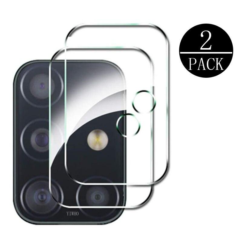 2PCS Camera Lens Tempered Glass For Samsung Galaxy A51 A71 5G S20 Ultra Plus M31 M21 M11 A41 A31 A21 A11 J6p Screen Protector