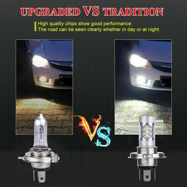 Купить 2 шт автомобисветодиодный светодиодные ламсветильник h4 9003 картинки цена