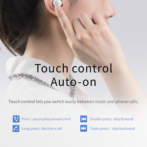 Image 3 - EDIFIER TWS1 Wireless Bluetooth Earphone V5.0 Support aptX IPX5 Touch Control Bluetooth Earbuds 3D Stereo Wireless Earphone