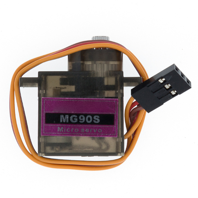 1pcs MG90S Metal gear  Digital 9g Servo For Rc Helicopter plane boat car MG90 9G|Integrated Circuits|   -