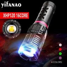 16 ядерный xhp120 светодиодная вспышка светильник с cob usb