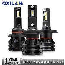 لمبات إضاءة السيارة LED ، لمبات الإضاءة الأمامية ، توربو ، H4 H7 H8 ، لسيتروين C5 C3 C4 Picasso Xsara Berlingo Saxo C2 C1 ، وحدتان