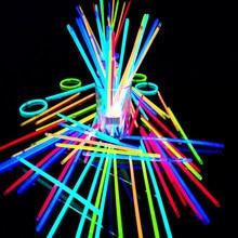 Светсветильник неоновые палочки-браслеты для вечеринок, 100 шт.