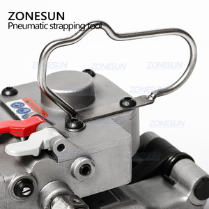 Image 5 - ZONESUN AQD 25 Pneumatic Strapping Machine For 13 19mm PP&PET Straps Hot Melt Strapping Machine