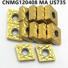 CNMG120408 MAUS735 External turning tool cnmg 120408 Carbide insert CNC lathe milling