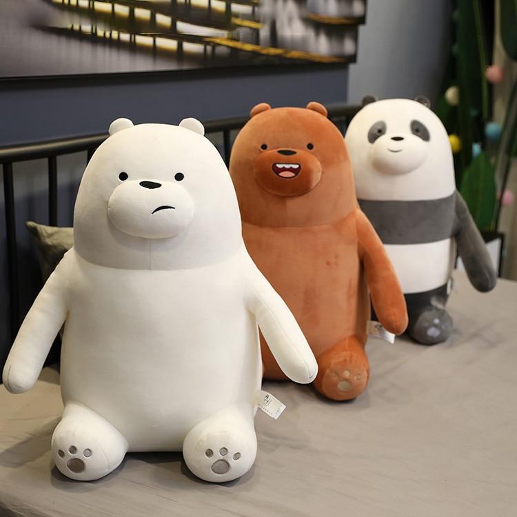 Kawaii osos de peluche de juguete Oso de hielo oso de peluche muñeca suave muñeca de peluche de anime sofá almohada regalo para regalo de cumpleaños para niños