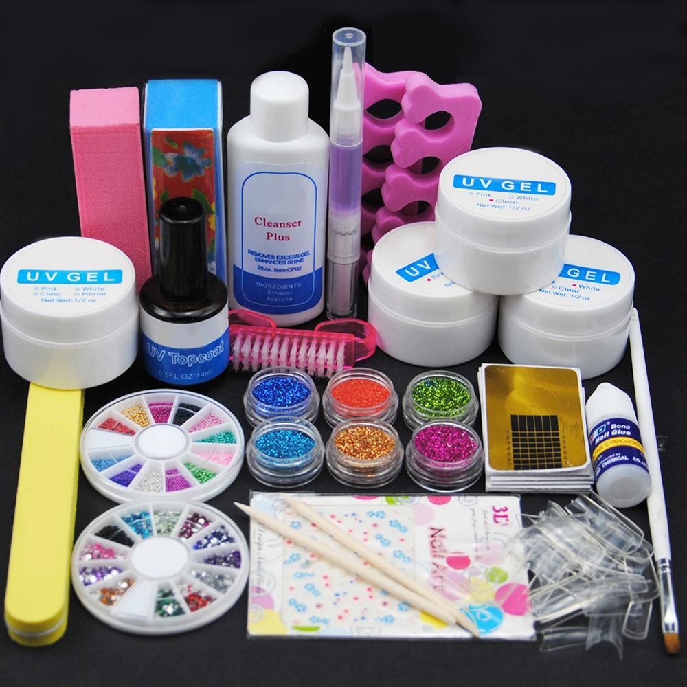Manicure <font><b>Set</b></font> Of Tools Nail <font><b>Set<