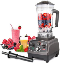 HS-200D BPA free 1650W Heavy Duty Commercial Blender Professional Blender Mixer Food Processor Juicer Ice Smoothie Machine цена