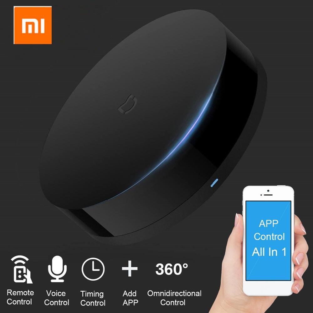 Original Xiaomi Mi Universal Intelligent Smart Remote Controller WIFI+IR Switch 360degree Smart Home Automation Mi smart sensor