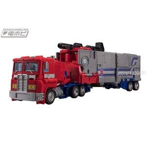 Image 4 - TKR jouets figurines daction Version JPN, sans alliage, camion léger silencieux, génération, sélectionne la Transformation du commandant Star OP