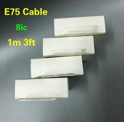 10 pçs/lote original 8ic 1m/3ft e75 chip usb cabo de dados sincronização carregador para 6s 7 8 mais xr xs max com novo pacote