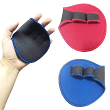 Newly 1 Pair Weight Lifting Training Gloves Palms Protector Dumbbell Grips Pads