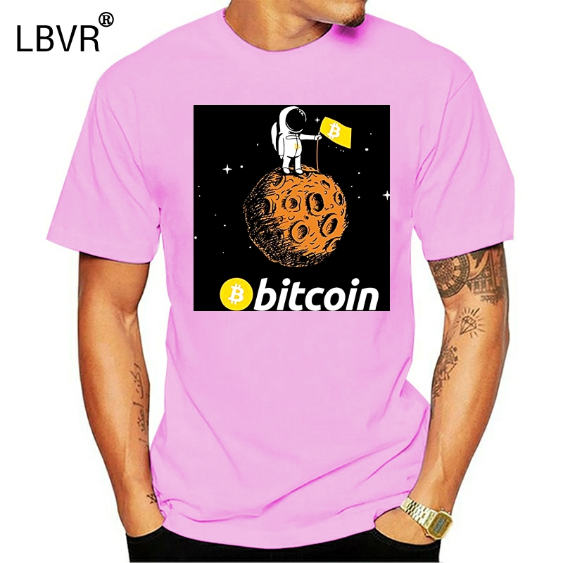 Bitcoin To The Moon CryptoCurrency BTC t-shirt