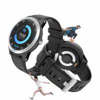 TEZER 2020 Reloj Inteligente deportivo rastreador de ritmo cardíaco ECG pulsera Inteligente Reloj deportivo para hombres y mujeres relojes inteligentes E101