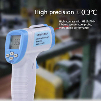 Handheld Forehead Thermal Scanner Thermometer Digital Infrared Body Temporal Thermometer тест на коронавирус