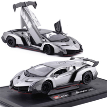 1:24 alloy car poison sports car vehicle model simulation classic alloy model for funs Collection or Decoration for funs or kids цены онлайн