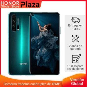 Глобальная версия HONOR 20 Pro Google Play смартфон 6,26 '8Гб 256 ГБ Kirin 980 Восьмиядерный 48мп камера мобильный телефон NFC