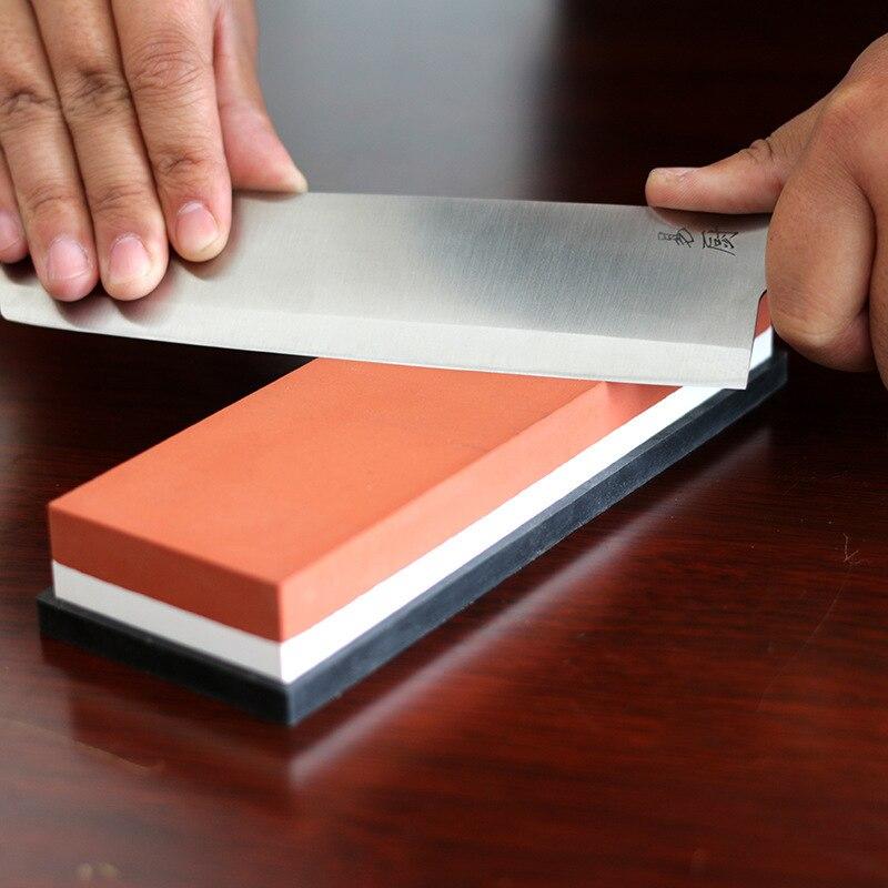 Aiguiseur de couteaux pierre à aiguiser pierre à eau outil de cuisine 2-en-1 240 600 1000 3000 système de meulage de pierres