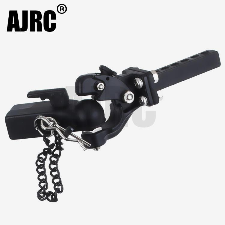 RC Metal Trailer Hook Connector Coupler For 1/10 RC Crawler Car Traxxas TRX4 Bronco RC4WD D90 Axial SCX10 90046 JIMNY TRX-6 G63
