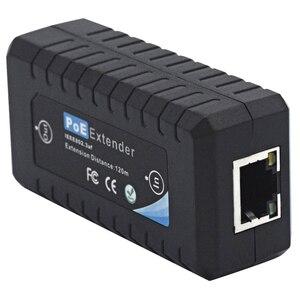 1 порт IEEE802.3af PoE удлинитель для камеры безопасности extend120M расстояние передачи с 10/100M LAN портами