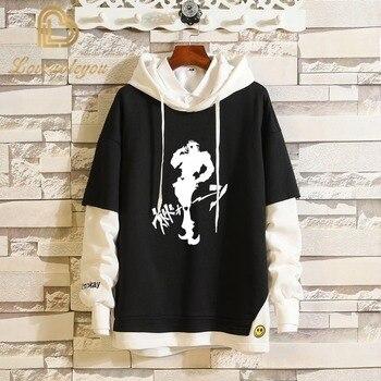 Men Women Cotton Hoodies Cosplay Costumes Anime JOJO'S Bizarre Adventure Hoodie Hip-hop Casual Top Outerwear Sweatshirt