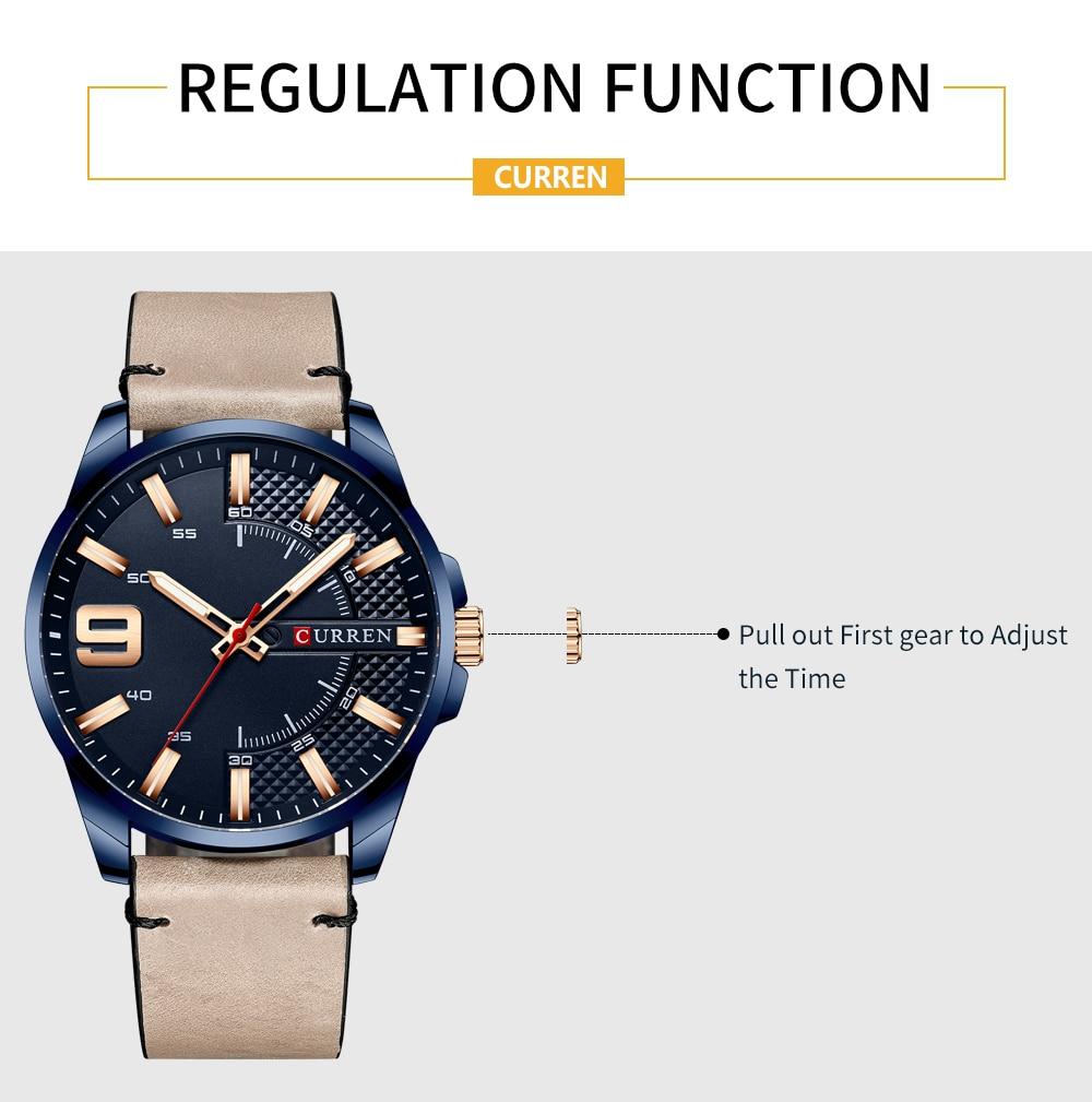 Hbf881f1ba4f044a786bc0a95d0ac23b2w Top Brand Luxury Business Watch Men CURREN Watches
