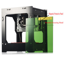 1000mW Micro Desktop CNC Laser Engraver DIY Logo Mark Printer Laser Engraving Carving Machine for Home Use Handicraft Wood Tool цена и фото