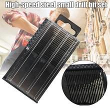 цена на 20Pcs/Set Mini Micro HSS Twist Drill Bit Kit 0.3mm-1.6mm Model Craft with Case HSS Twist Drill Bit Kit-30