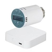 Actuador inteligente para radiador de SEA801-ZIGBEE, controlador de temperatura para termostato, Control por voz, funciona con Alexa y Google Home