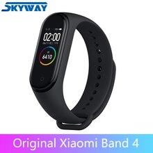 في المخزون الأصلي شاومي Mi الفرقة 4 الذكية Miband 3 شاشة ملونة سوار معدل ضربات القلب اللياقة البدنية المقتفي Bluetooth5.0 مقاوم للماء Band4