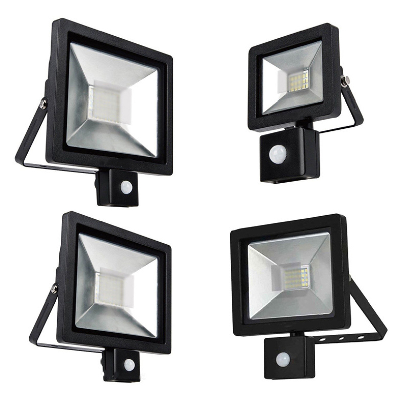 AC85-265 PIR Infrared Human Body Motion Sensor Control Switch LED Flood Light LED Motion Sensor Adjustable