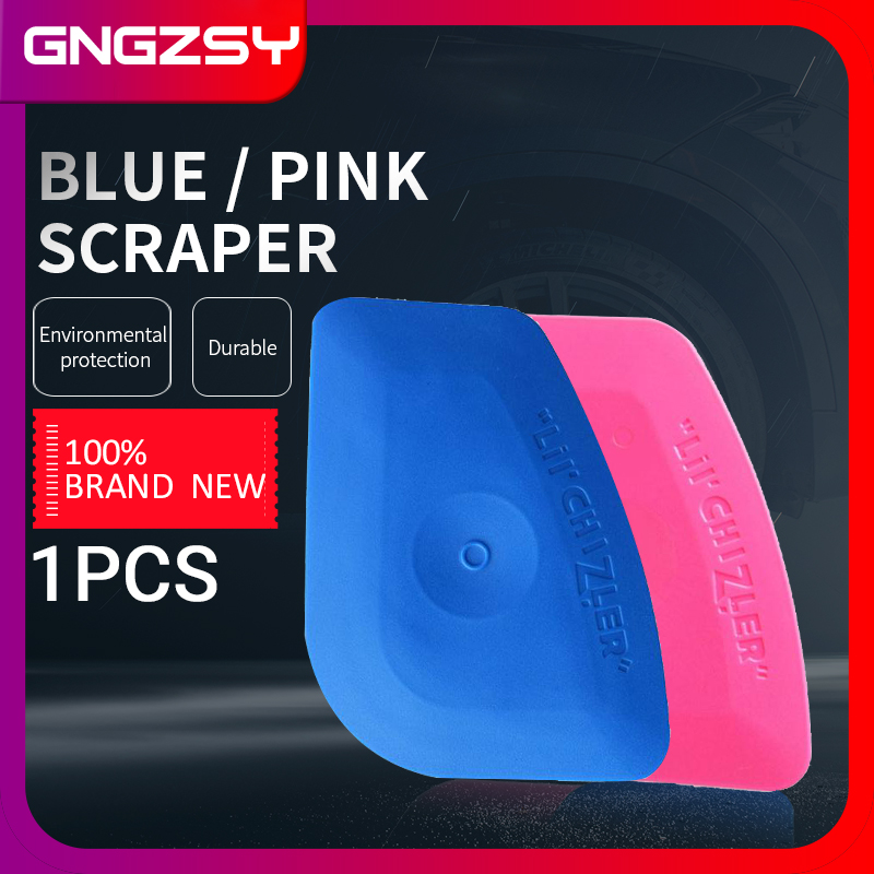 Soft Blue Squeegee Hard Pink LIL' CHIZLER Scraper Vinyl Car Wrap Tools Auto Foil Corner Trim Window Tint Installation Tools A25B