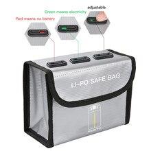 Markable torba na baterie do DJI Mini 2/Mavic Mini/ Mini SE akcesoria przeciwwybuchowa LiPo bezpieczna torba do przechowywania Mavic Mini części