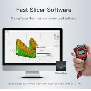 Image 3 - Anycubique Photon SLA 3D imprimante UV LCD résine assemblé 2K écran grande taille hors ligne impression Impresora 3d Drucker 3D imprimante Kit