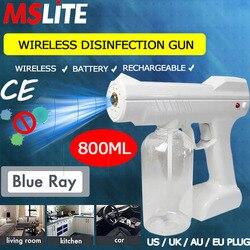 Novedades 2020 для дезинфицирующего спрея бутылка пистолет дезинфицирующее устройство стерилизатор для тумана анион нано пар для офиса комнаты