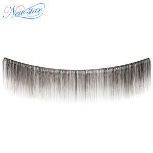 Image 2 - Brazilian Virgin Human Hair Straight Style Extension 3 Bundles Deal 100%Unprocessed Intact Cuticle New Star Long Hair Weaving