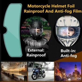 AEP Clear Pinlock Anti-fog patch Motorcycle Full Face Helmet Generic for K3 K4 AX8 LS2 HJC Marushin Helmets Lens Anti-fog visor silvering visor full face dual visor motorcycle helmet