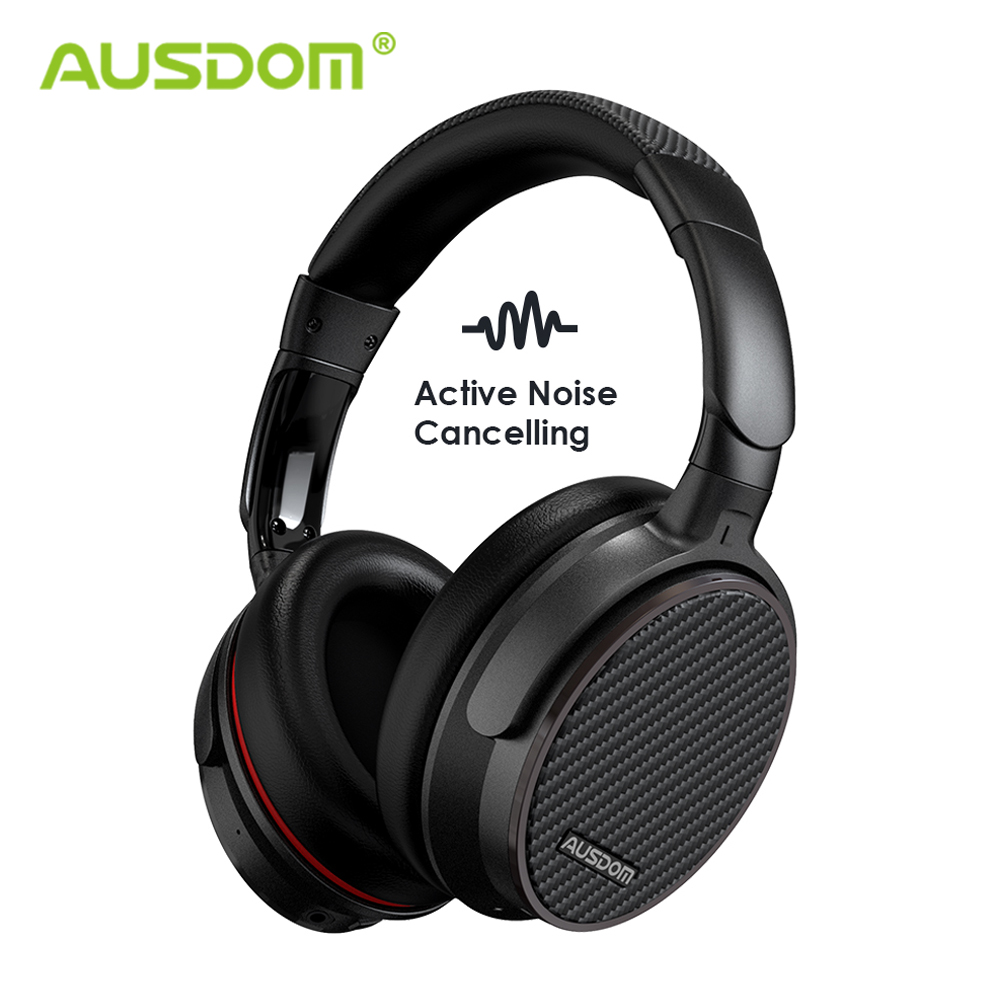 Ausdom ANC7S Aktive Noise Cancelling <font><b>Bluetooth</b></font> Kopfhörer HiFi Stereo Tiefe Bass Wireless Headset für TV <font><b>Computer</b></font> Telefon image