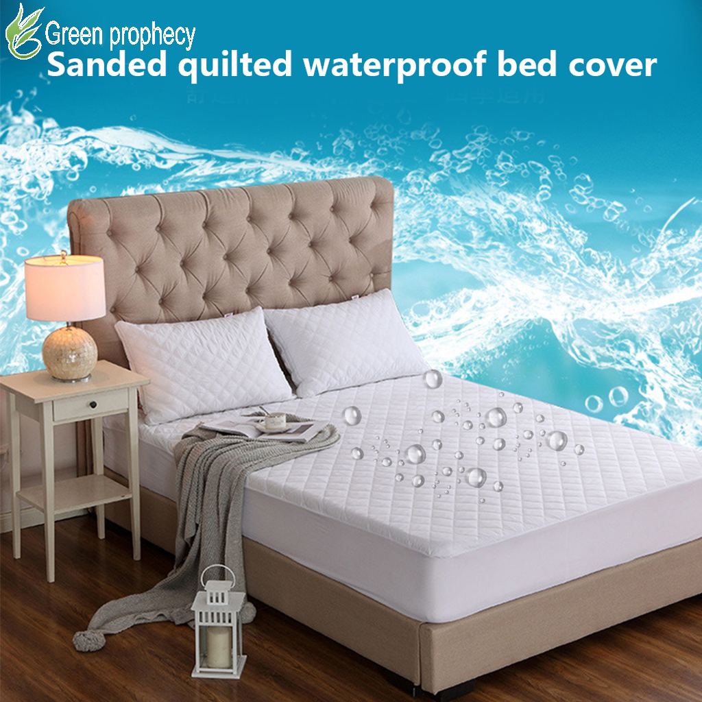 Waterproof And Stain Resistant Mattress Protector Bed Bug Proof Washable Hypoallergenic Mattress Covers Washable Mattress