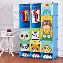 Baby Wardrobe Closet Ropero Enfant Children's Assembly Armoire Guarda Roupa Resin Sale