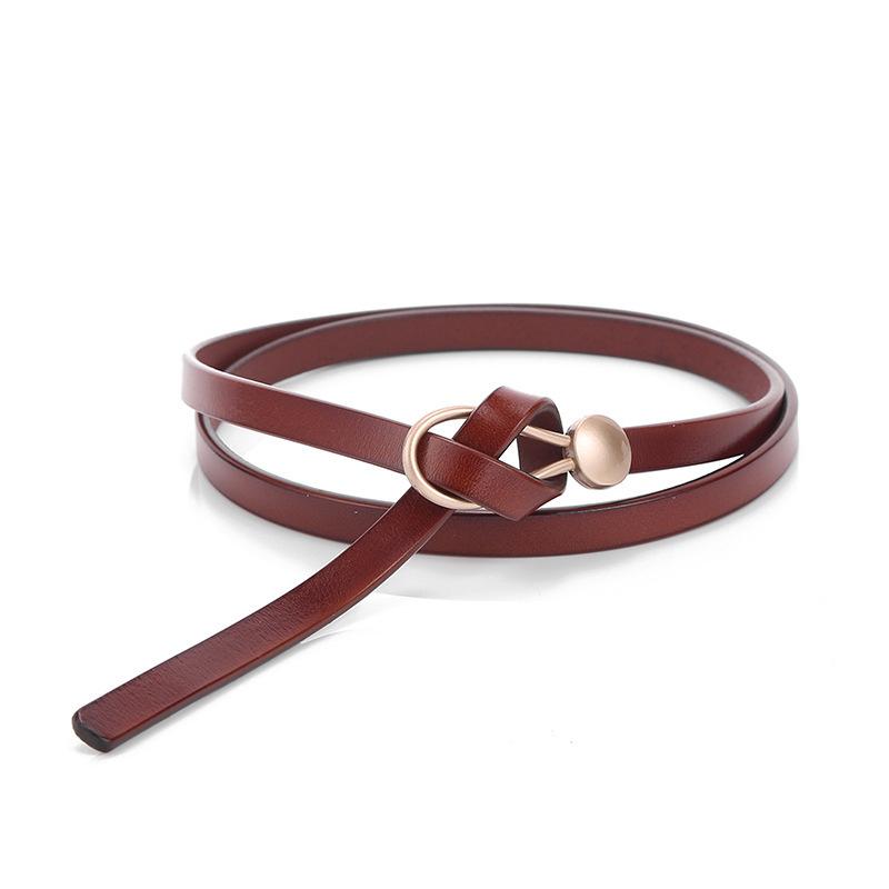 Genuine Leather Women Belt Luxury Brand Female Fashion Punk Belt Jeans Wild Belt For Women Waist Belts Free Shipping